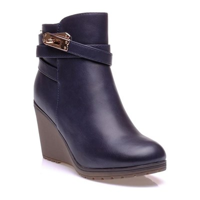Xti BOOTS, BOTTINES BLEU