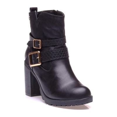 Xti BOTTINES NOIR