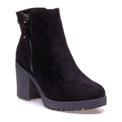 Xti BOOTS, BOTTINES NOIR
