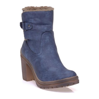 Refresh BOOTS, BOTTINES BLEU
