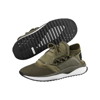 Puma TSUGI SHINSHEI BASKETS RUNNING OLIVE Chaussure France_v9544