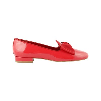 Exclusif Paris TRIANON CHAUSSURES EN CUIR ROUGE Chaussure France_v14492