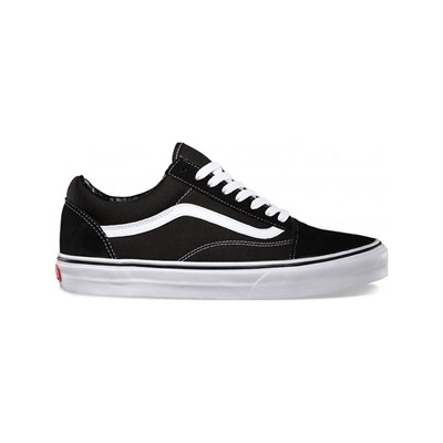 Vans OLD SKOOL LOW SNEAKERS WEIß
