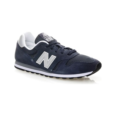 New Balance ML373 D SNEAKERS AUS LEDER MARINEBLAU