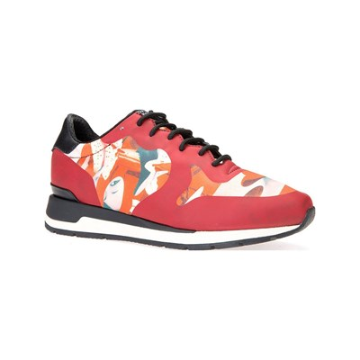 Geox SHAHIRA LOW SNEAKERS ROT