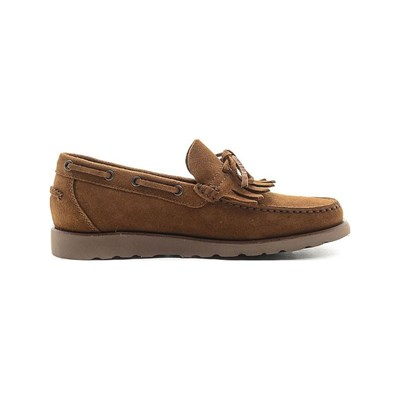 Geox WORKER MOCASSINS EN CUIR WHISKY Chaussure France_v6562