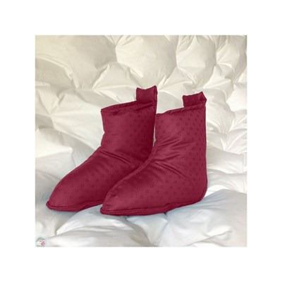 Castex couettes naturelles CHAUSSONS ROSE Chaussure France_v5476