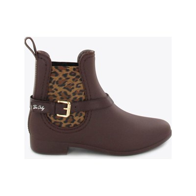 Chaussures Femme | Be Only OCELOT BOOTS, BOTTINES MARRON