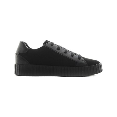 Geox HIDENCE LOW SNEAKERS SCHWARZ