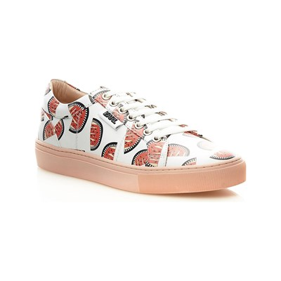 Karl Lagerfeld BASKETS EN CUIR MULTICOLORE Chaussure France_v13376