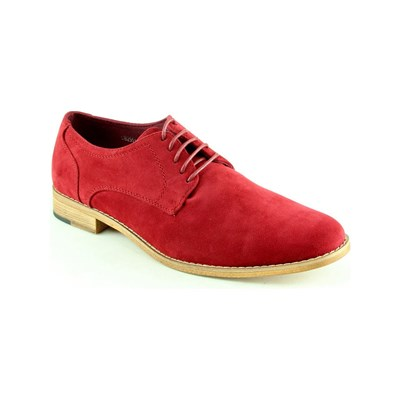 Uomo DERBIES ROUGE Chaussure France_v3787