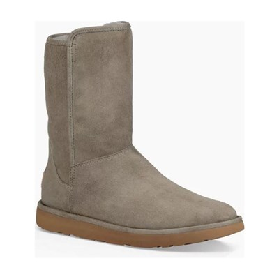 Chaussures Femme | Ugg ABREE SHORT II BOTTINES EN CUIR GRIS