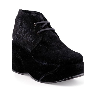 Design BOOTS, BOTTINES NOIR