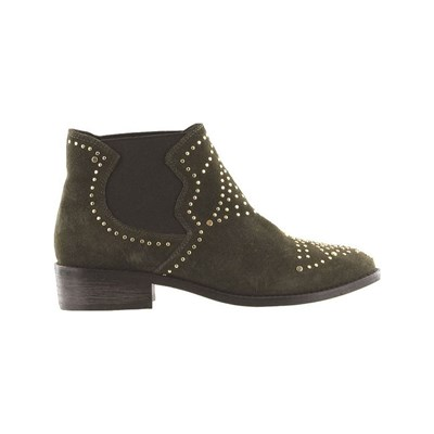 Steve Madden JIPP BOOTS, BOTTINES KAKI Chaussure France_v7808