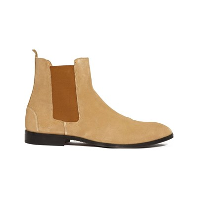 Juch FISCHERI BOTTINES EN CUIR MARRON CLAIR