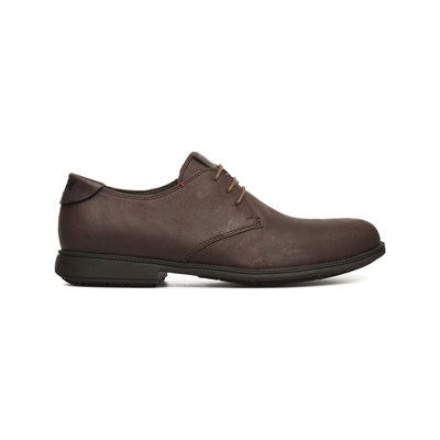 Camper MIL DERBIES EN CUIR MARRON