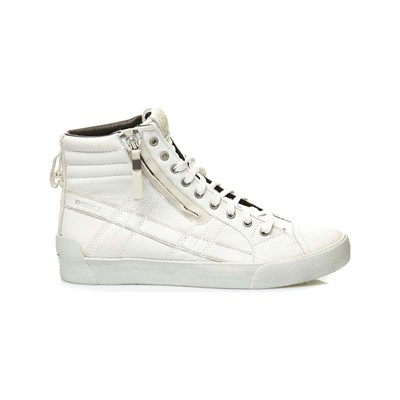 Diesel D-STRING PLUS LOW SNEAKERS WEIß