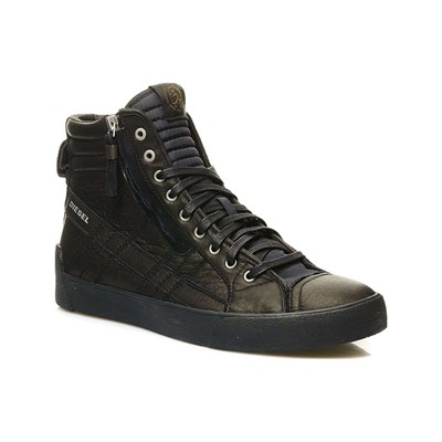 Diesel D-STRING PLUS LOW SNEAKERS SCHWARZ