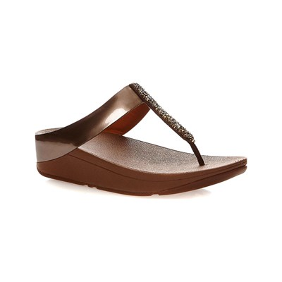 FitFlop TONGS BRONZE