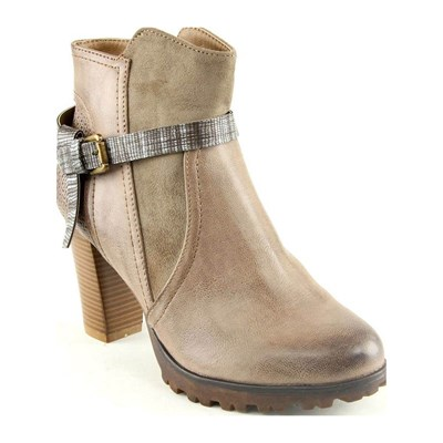 Forever Folie BOOTS, BOTTINES BEIGE Chaussure France_v4027