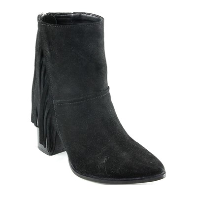 Ornella Dutti JUNE BOTTINES EN CUIR NOIR