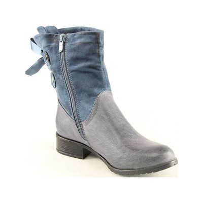 Forever Folie BOOTS, BOTTINES BLEU Chaussure France_v4028