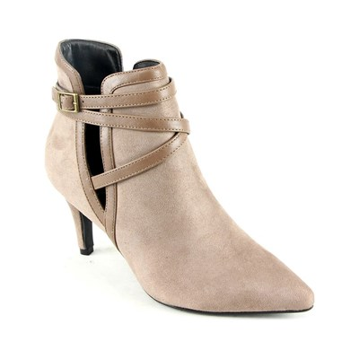 Moow BOTTINES TAUPE Chaussure France_v4724