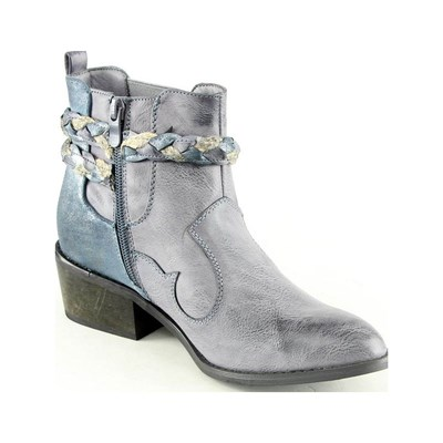 Forever Folie BOOTS, BOTTINES BLEU Chaussure France_v4510