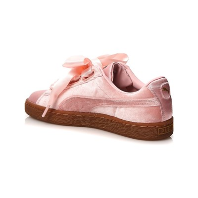 2830814 Caoutchouc Basses Baskets Rose Puma Heart XwUfXI