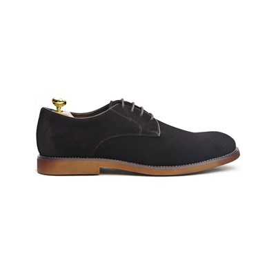 Riveleft DERBIES EN CUIR CAFÉ