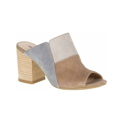 Hush Puppies SAYER LEDER-MULES BEIGE