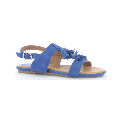 Hush Puppies GANDY SANDALES EN CUIR BLEU
