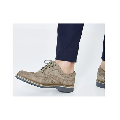 Celio CYBROGUE DERBIES TAUPE Chaussure France_v4400