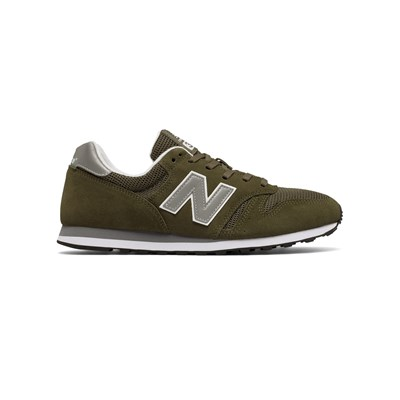 New Balance ML373 D SNEAKERS AUS LEDER OLIVFARBEN