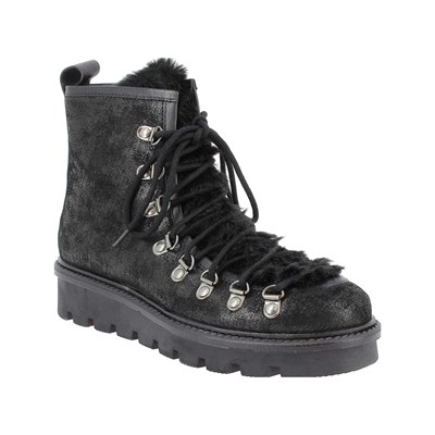 Elizabeth Stuart RUN BOTTINES EN CUIR NOIR