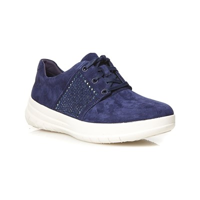 Chaussures Femme | Cartago SPORTY-POP X CRYSTAL BASKETS BASSES BLEU MARINE