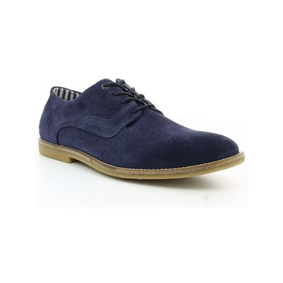 Kickers BACHALCIS DERBIES EN CUIR BLEU MARINE Chaussure France_v4767