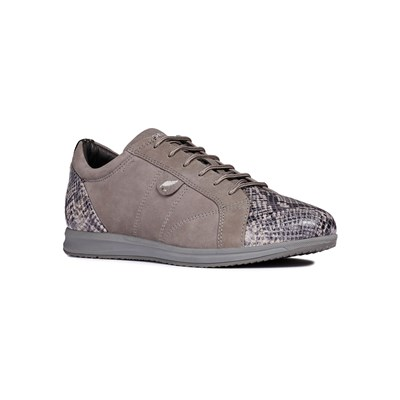 Geox AVERY LOW SNEAKERS DUNKELGRAU