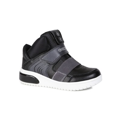 Geox XLED BASKETS MONTANTES NOIR Chaussure France_v10374