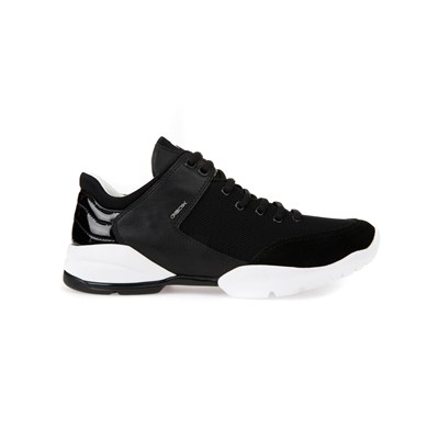 Geox LOW SNEAKERS SCHWARZ