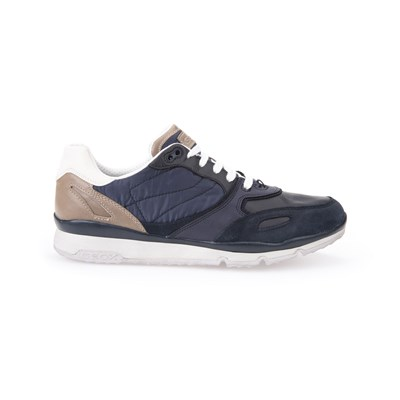 Geox LOW SNEAKERS MARINEBLAU
