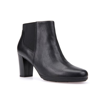 2874169 Noir Bottines Geox Synthétique Annya IPq464nwBc