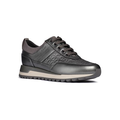 Geox TABELYA LOW SNEAKERS GRAU