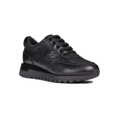 Geox TABELYA LOW SNEAKERS SCHWARZ