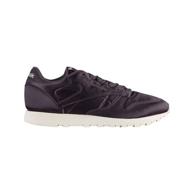 Reebok Classics CL LTHR SATIN BASKETS RUNNING VIOLET Chaussure France_v4080