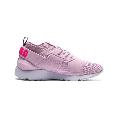 Puma MUSE BASKETS BASSES ROSE CLAIR Chaussure France_v5391