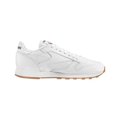 CLASSIC LEATHER LEDERSNEAKERS WEIß