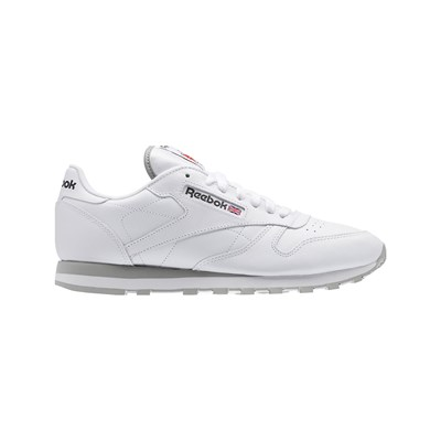 Reebok Classics CL LEATHER BASKETS EN CUIR BLANC Chaussure France_v10451
