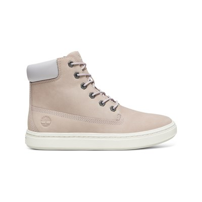 Timberland LONDYN 6 INCH HIGH SNEAKERS AUS LEDER HELLROSA