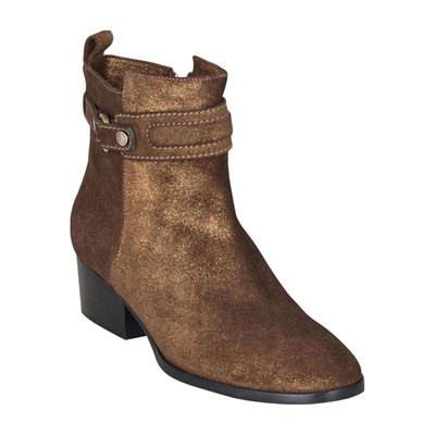 Chaussures Femme | Kesslord ANGEL BOOTS, BOTTINES EN CUIR OR